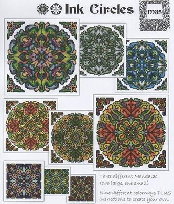 RYO Mandala 5 - Cross Stitch Pattern