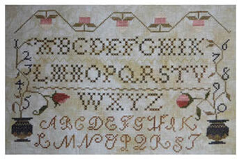 Jenny Bean Alphabet - Cross Stitch Pattern