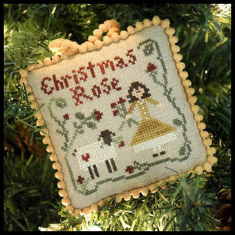 Christmas Rose (Sampler Tree) - Cross Stitch Pattern
