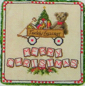 Teddy Express - Cross Stitch Pattern