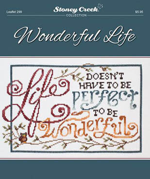 Wonderful Life - Cross Stitch Pattern