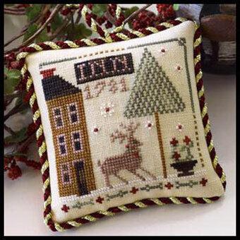 Sampler Tree Ornament Series Little House Needlework Cross Stitch Pattern 1-12