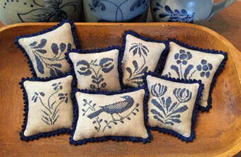 Stoneware Pinpillows II - Cross Stitch Pattern