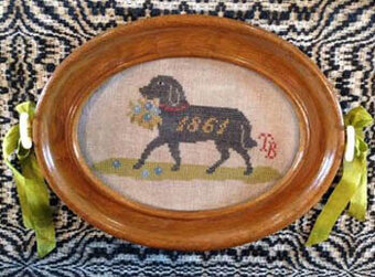 Faithful Friend - Cross Stitch Pattern