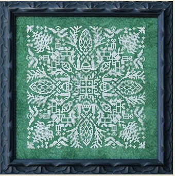 Holly Jolly Mandala - Cross Stitch Pattern