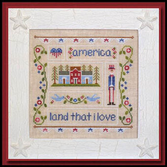 Land That I Love - Cross Stitch Pattern
