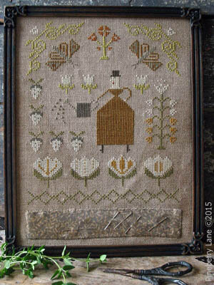 Mrs Maguire's Garden - Cross Stitch Pattern