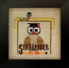 Joyful Journal - September - Cross Stitch Pattern