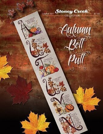 Autumn Bell Pull - Cross Stitch Pattern