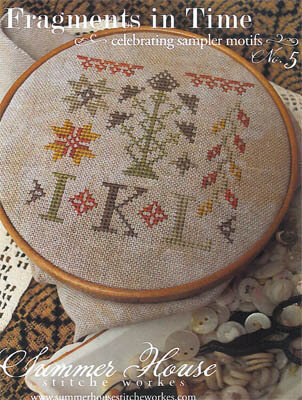 Fragments in Time #5 - Cross Stitch Pattern