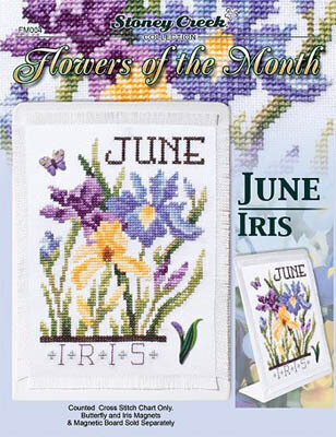 Flowers of the Month June - Cross Stitch Pattern