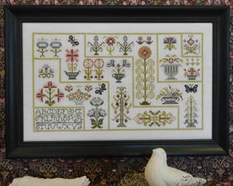 Willowbrook Pathways - Cross Stitch Pattern