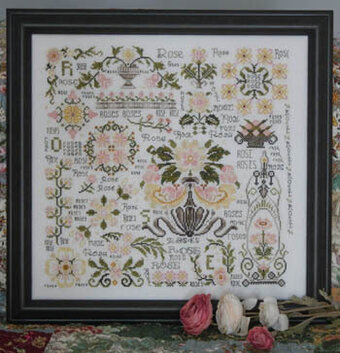 Rosewood Manor Dreaming Of Roses Cross Stitch Pattern