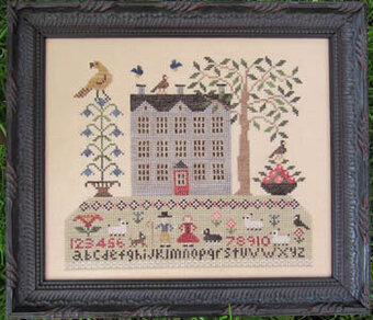 Life on Sampler Hill - Cross Stitch Pattern