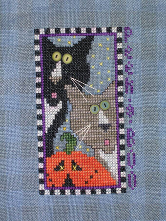 Peek A Boo - Cross Stitch Pattern