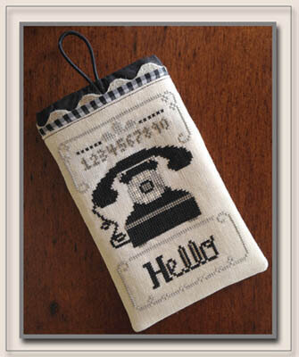 Hello Phone Case - Cross Stitch Pattern