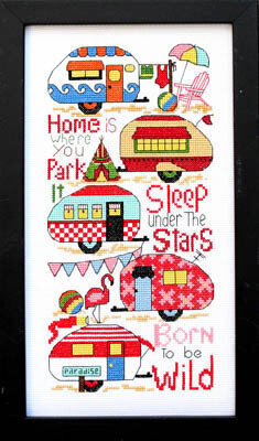 Born to Be Wild - Cross Stitch Pattern