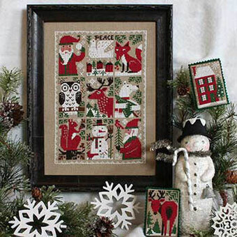Evergreen - Cross Stitch Pattern