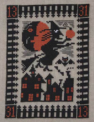 Night Flight - Cross Stitch Pattern