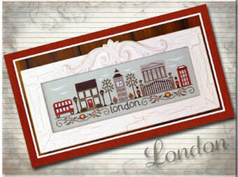 Afternoon In London - Cross Stitch Pattern