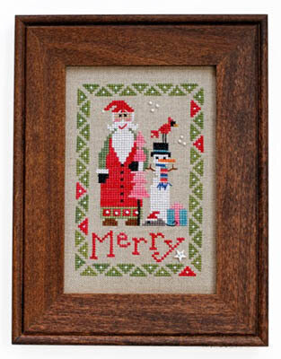 Wee Santa 2015 - Cross Stitch Pattern