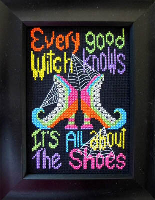 Good Witch - Cross Stitch Pattern