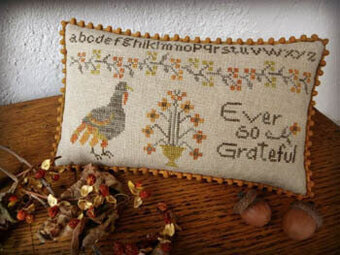 Ever So Grateful - Cross Stitch Pattern