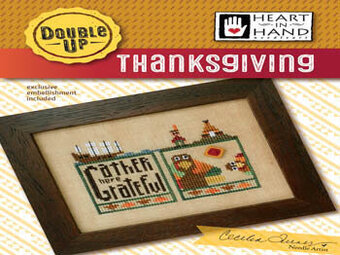 Double Up - Thanksgiving - Cross Stitch Pattern
