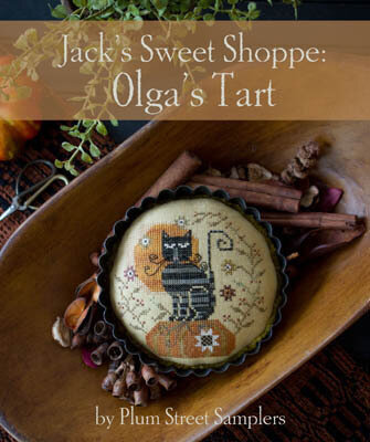 Jack's Sweet Shop Olga's Tart - Cross Stitch Pattern