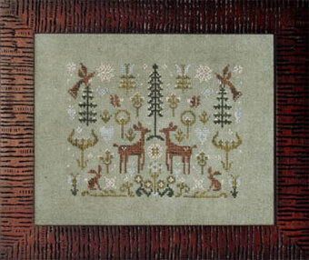 Spring Snow - Cross Stitch Pattern