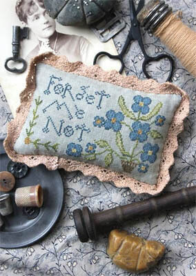 Forget Me Not - Cross Stitch Pattern