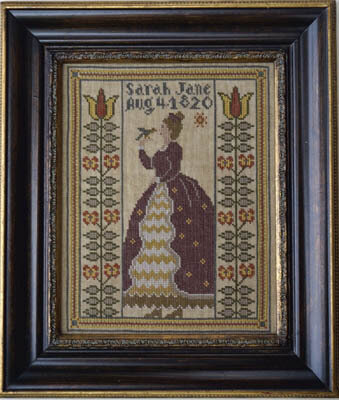 Miss Sarah Jane - Cross Stitch Pattern