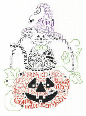 Let's Get Spooky - Cross Stitch Pattern