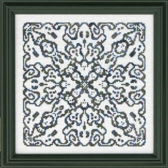 Ghostly Mandala - Cross Stitch Pattern