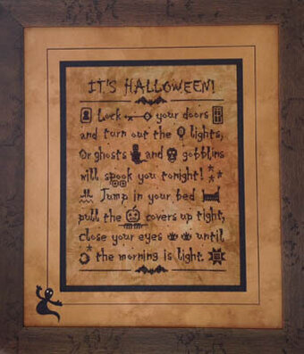It's Halloween - Cross Stitch Pattern