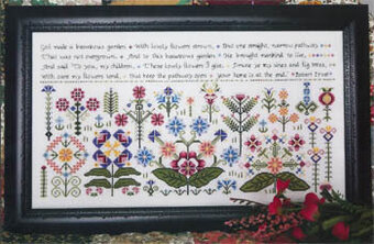 Beauteous Garden - Cross Stitch Pattern