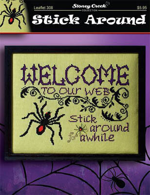 Stick Around - Cross Stitch Pattern