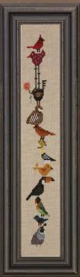 Birds & Tweet (Giggly Wigglies) - Cross Stitch Pattern