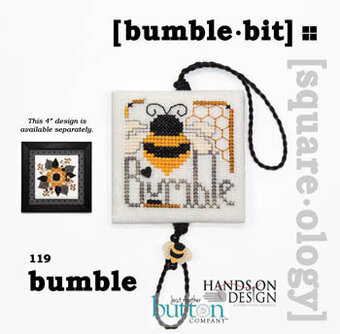 Squareology Bumble - Bumble Bit - Cross Stitch Pattern