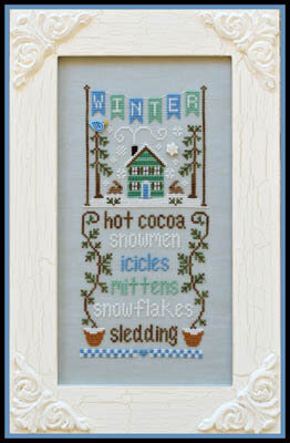 Seasonal Celebrations - Winter - Cross Stitch Pattern