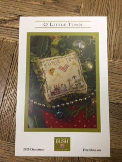 O Little Town - Cross Stitch Pattern