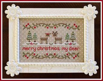 Merry Christmas My Deer - Cross Stitch Pattern