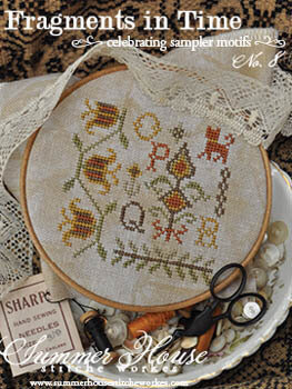 Fragments in Time #8 - Cross Stitch Pattern