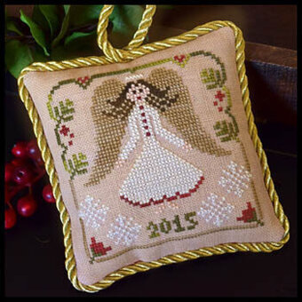 Christmas Angel (Sampler Tree) - Cross Stitch Pattern