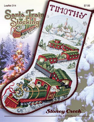 Trains - Cross Stitch Patterns & Kits - 123Stitch.com