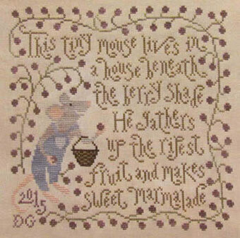 Sweet Marmalade - Cross Stitch Pattern