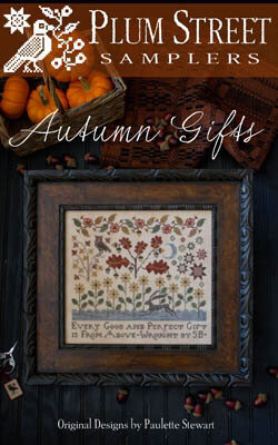 Autumn Gifts - Cross Stitch Pattern
