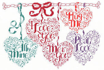 Valentine Candy - Cross Stitch Pattern