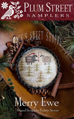 Merry Ewe - Jack's Sweet Shop - Cross Stitch Pattern