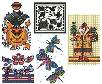 Cards Cards Cards II - Cross Stitch Pattern